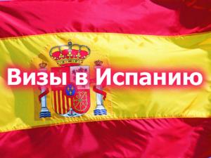 Оформление долгосрочной визы в Испанию